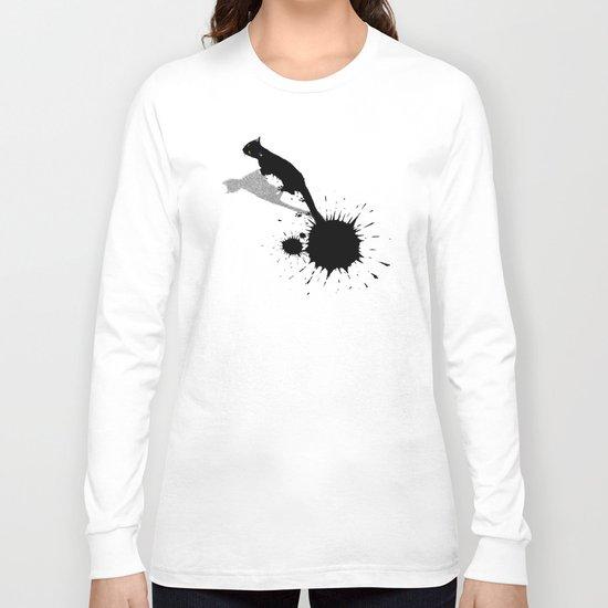 Inkcat2 Long Sleeve T-shirt