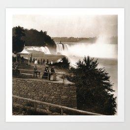 Prospect Point, Niagara Art Print