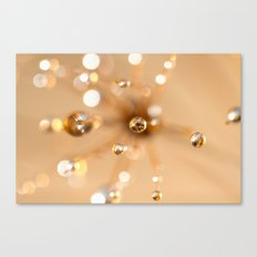 Queen Anne's Lace in Gold Canvas Print
