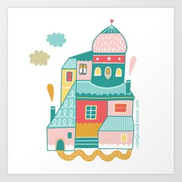 House Goals Art Print