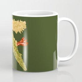 Shrimps and Vegetables Tempura - Olive Green Coffee Mug