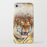 fierce iPhone & iPod Cases featuring Fierce by Robin Curtiss