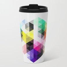 Geo Hex 01. Travel Mug