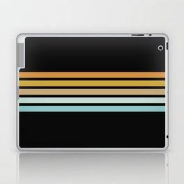 Retro Sunshine Stripes Laptop & iPad Skin