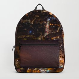 Nightscape in Rome Backpack