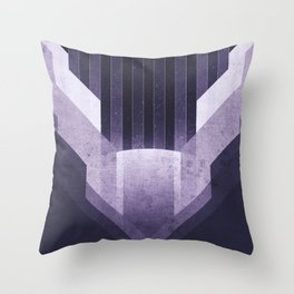 Dione - The Ice Cliffs Throw Pillow