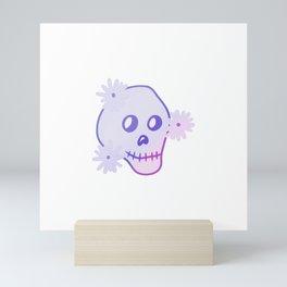 Gradient Skull  Mini Art Print