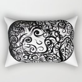 Anxious Me Rectangular Pillow