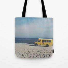 Kismet Beach Bus Tote Bag
