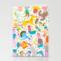 party Stationery Cards featuring Party! by Judy Kaufmann