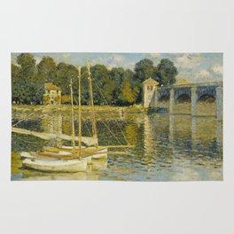 Claude Monet  -  Le Pont Dargenteuil Rug