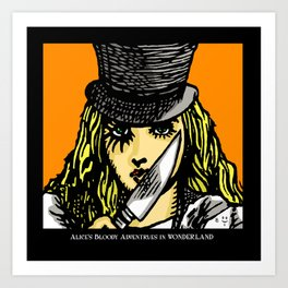 A Clockwork Wonderland Art Print