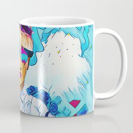 Geometric clouds Coffee Mug