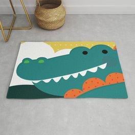 Crocodile rock Rug