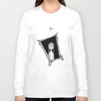 mirror Long Sleeve T-shirts featuring Mirror by Andrew Mark Pickin