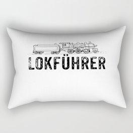 Train Driver Gift Rectangular Pillow