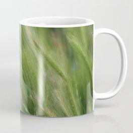 Hayseed Heads Wild Grass Utah in Rainforest Green Coffee Mug