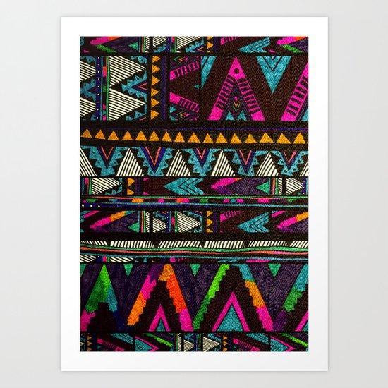 ▲HUIPIL▲ Art Print