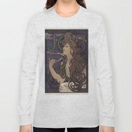 Alfonse Mucha HF5 Long Sleeve T-shirt