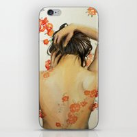 wallet iPhone & iPod Skins featuring Blend In by Madelyne Joan Templeton