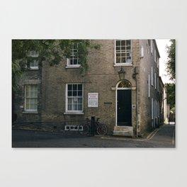 Cottage Flat Canvas Print