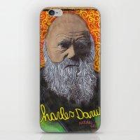 darwin iPhone & iPod Skins featuring Charles Darwin by Ibbanez