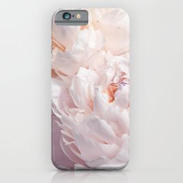 Floral Photography | Peony Pink Cluster | Flowers | Botanical | Plant iPhone Case