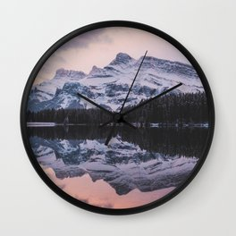 Mt Rundle Wall Clock
