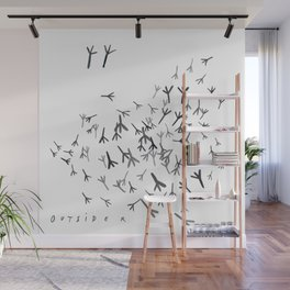 Outsiders Wall Mural