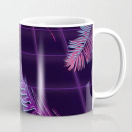 Synthwave Palm Leaves Coffee Mug