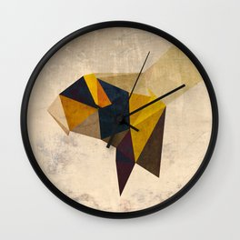 Bumbling Along Wall Clock