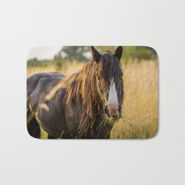 Autumn Horse Bath Mat
