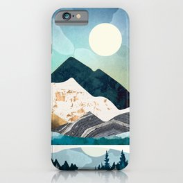 Evening Forest iPhone Case
