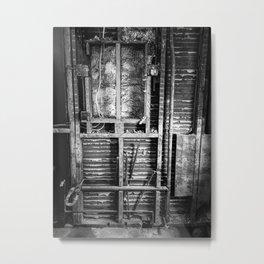 Dorchester Mechanical Metal Print