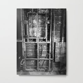 Dorchester Mechanical Metal Print