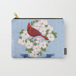 North Carolina State Bird and Flower Carry-All Pouch
