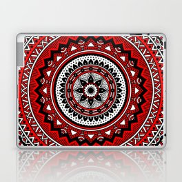 Red and Black Mandala Laptop & iPad Skin