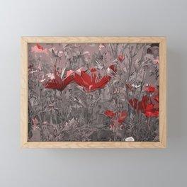 Wild Flowerbed 2 Framed Mini Art Print