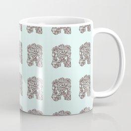 Ancient Golem Mythical Mythology Color Pattern Coffee Mug