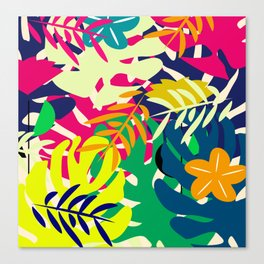 Tropical voyage Canvas Print