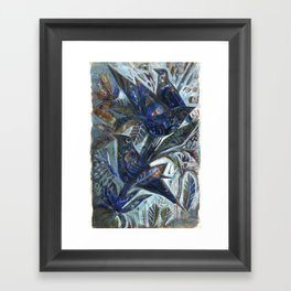Birds in the Orchard Framed Art Print