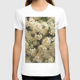 flower and light - White flower 4 T-shirt