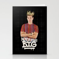 notorious big Stationery Cards featuring Notorious BIG by Alpha-Tone
