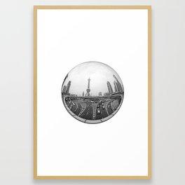 Circular Fisheye #4 Framed Art Print