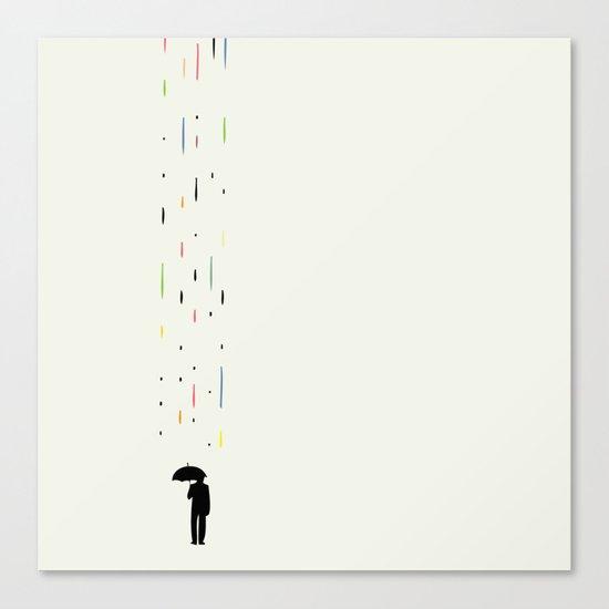 Mr Rain Canvas Print