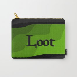 Loot: Color Grass-Green Carry-All Pouch