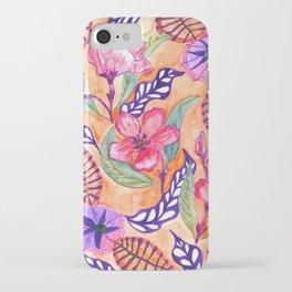 Floral Art Botanical  iPhone Case