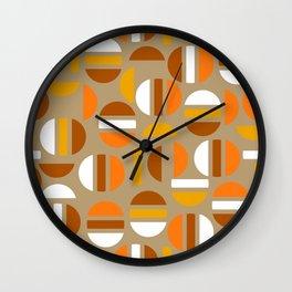 1970 Retro Tapestry Wall Clock