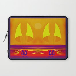 Hot Summer with May in May - shoes stories Laptop Sleeve