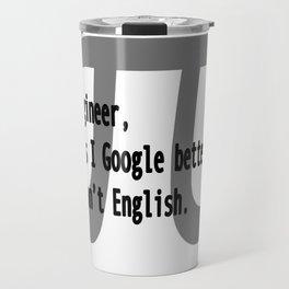 Engineer Skills Travel Mug